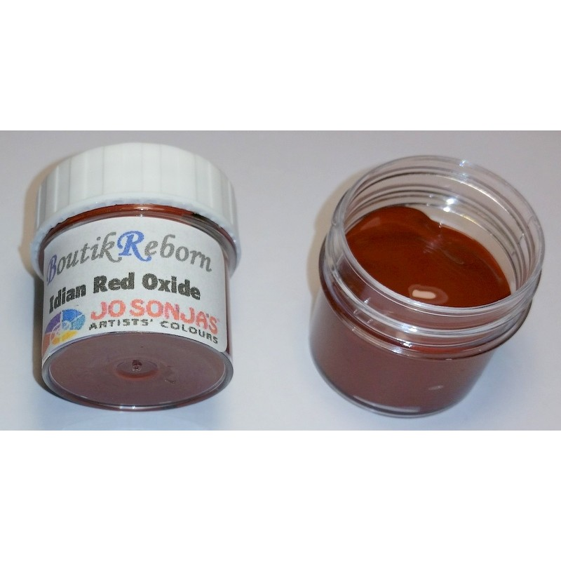 Peinture acrylique INDIAN RED OXIDE (Rouge Indien Oxyde)