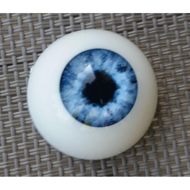 Yeux acrylique Bleu pour reborn