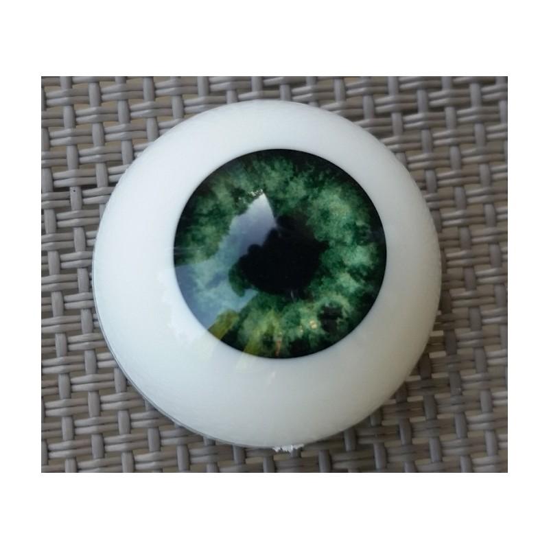 Yeux acrylique Vert pour reborn