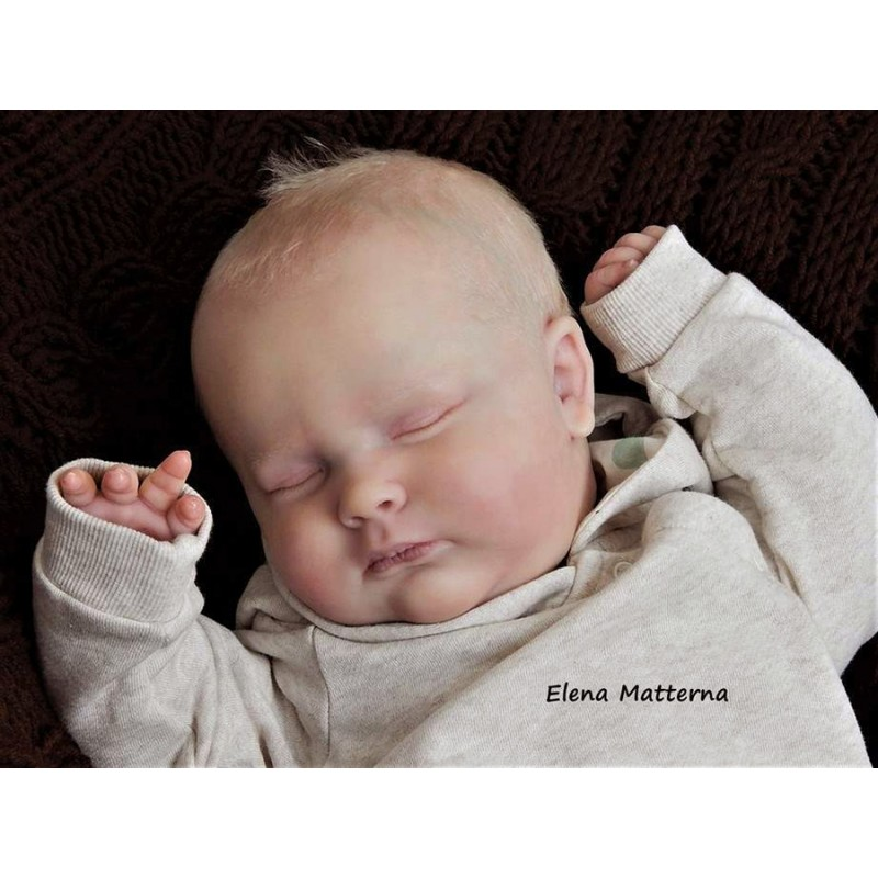 Kit Realborn Joseph 3 mois endormi