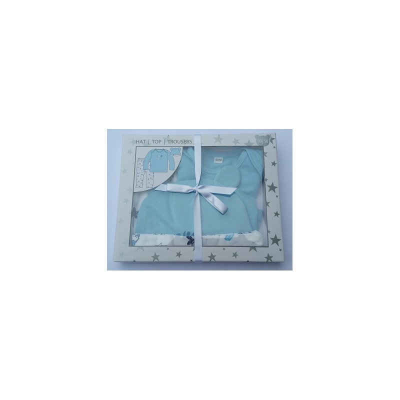 ENSEMBLE VETEMENT Bleu-Blanc