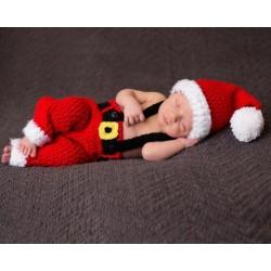 Tenue tricotée main Thème Noël