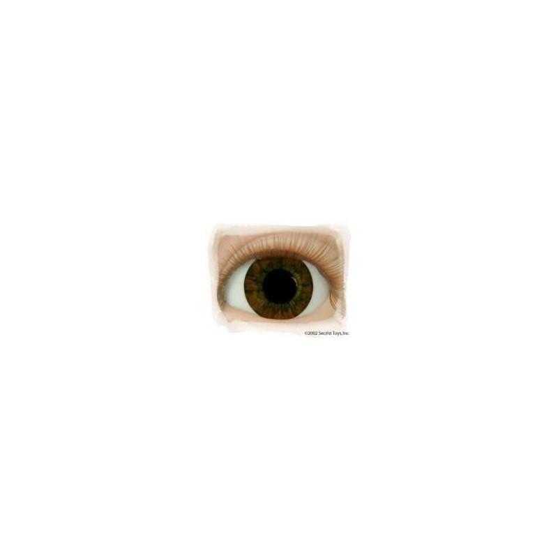 "BRUN FONCE ""Real Eyes"""